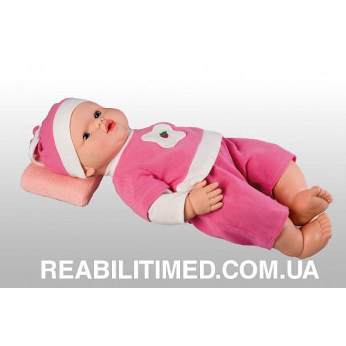 Подушка ортопедическая анатомической формы для новорожденных М-2