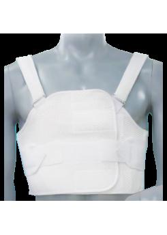 НФ Бандаж реберный послеоперационный разъемный на грудную клетку БР-3Т цвет черный