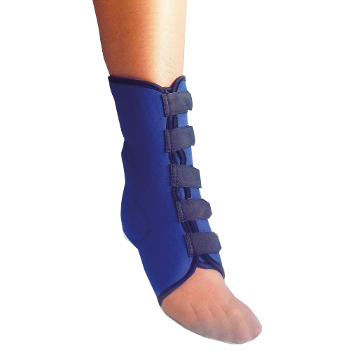 НФ Бандаж на голеностопный сустав эластичный ГС-1М цвет черный