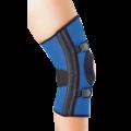 Бандаж для средней фиксации колена с 4-мя спиральными ребрами жесткости К-1П