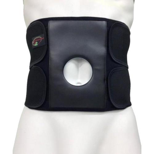 Бандаж для спины и мышц брюшной стенки с отверстием под стому «Стронг» С-3С